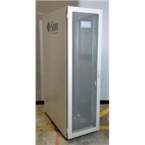 "Sun MicroSystems 594-5592-01 19"" 42U Server Rackmount Cabinet Enclosure w PDUs"