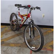 Red Excitor Magna 2X Suspension Index Shifting 21 Speed Bicycle - LOCAL PICKUP