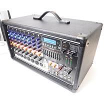 Peavey PVi 8500 400W 12 Channel Powered Mixer with 24-Bit Digital FX - FOR PARTS