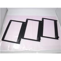 Lot of Three 3 Lenovo Thinkpad X131e 11.6 Black Screen Bezel 04W3865 3ELI3LBLV00