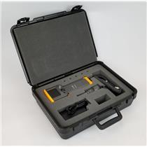 Fluke Networks FT330 Fiber Display & FT350 Fiber Probe w Case TESTED & WORKING
