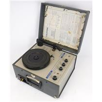 Califone 1450C Classroom Portable Phonograph Record Turntable - TESTED & WORKING