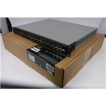 Cisco S Buisness SF300-48PP 48-port 10/100 PoE+ Managed Switch W/ Gigabit Uplink