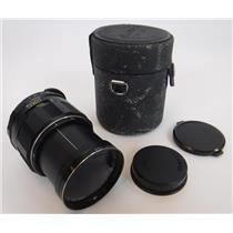 Asahi Super Multi Coated Macro Takumar 1:4 / 50 Camera Lens W/ Leather Case