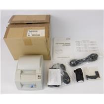 NEW Citizen CT-S300-RF120A White USB Thermal POS Receipt Printer W/ Power Supply