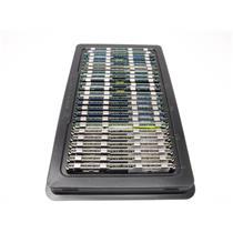 Lot of 25 Mixed Brands and Speeds 4GB PC2 DDR2 Computer Server RAM w/ Heatsink