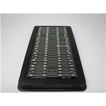 Lot of 25 Mixed Brands 2GB PC2-5300F DDR2 Computer Server RAM w/ Heatsink