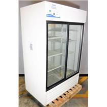 Fisher Scientific 13-986-145G Double Glass Display Door Laboratory Refrigerator