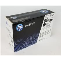 NEW NIB Genuine OEM HP 80X Black CF280X Toner Cartridge for 400 M401 & M425