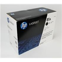 NEW NIB Genuine OEM HP 81A Black CF281A Toner Cartridge for MFP M630