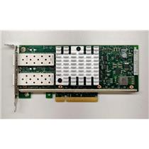 Dell / Intel X520-DA2 Dual Port 10Gbe SFP Network Adapter NIC XYT17 Low Profile