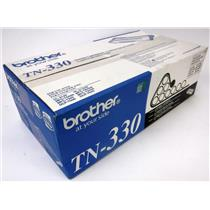 NEW NIB Genuine OEM Brother TN-330 Black Toner Cartridge