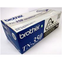 NEW NIB Genuine OEM Brother TN-350 Black Toner Cartridge