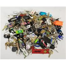 Lot of 7lbs House Keys Car Keys Key Chains Key Rings Lanyards from Lost & Found