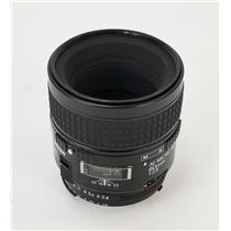 Nikon AF Micro Nikkor 60mm f/2.8 Camera Lens