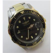 Invicta 8934 Pro Diver Gold-Tone 200M Mens Watch W/ Black Dial & Gold-Tone Hands