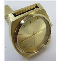NIXON MINIMAL 16A Time Teller Gold-Tone Unisex Watch W/ Gold-Tone Dial & Band
