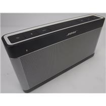 Bose Soundlink SLIII 414255 Bluetooth Wireless Speaker III TESTED & WORKING