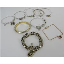 Lot Of Designer Bracelets Pandora Brighton Kendra Scott  Michael Kors Alex & Ani