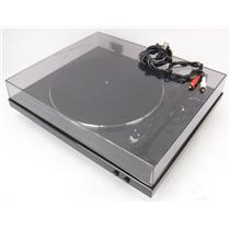 Denon DP-300F Fully Automatic Analog Phono Turntable - TESTED & WORKING