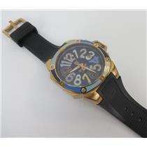 Technosport TS-200-SPLASH3 Swarovski Dial Markers W/ Rose Gold-Tone Case Watch
