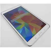 Samsung SM-T337A Galaxy Tab 4 16GB White Android Tablet W/ Good AT&T IMEI #