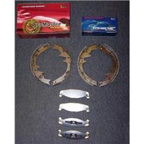 1990, 2000 Cherokee WranglerTitanium Frt Pads & Brake Shoes