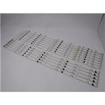 SAMSUNG 2012SVS55 3228 REV1.6 R/L 07 LED STRIPS For UN55FH6003F Set Of 12 Strips