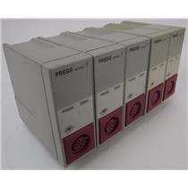 Lot of 5 HP Hewlett Packard PN M1006B Blood Pressure Modules Option ABA UNTESTED