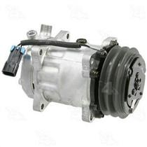 AC Compressor 58770 SD7H15 Ear Mount 2 Groove (1 Year Warranty) Reman