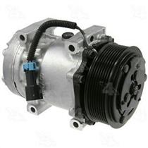 AC Compressor 4 Seasons 58784 SD7H15 8 Groove (1 Year Warranty) Reman