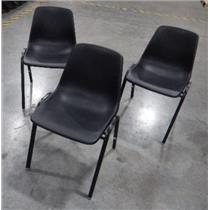 ***LOCAL PICK-UP ONLY*** Hon Model FB01000048 Black Stackable Chair