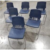 ***LOCAL PICK-UP ONLY*** HON Model F252000022 Blue Stackable Chair