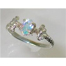 SR192, Mercury Mist Topaz, 925 Sterling Silver Ring