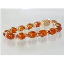 B003C, Amber Gold Bracelet
