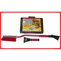 "Emergency Road kit 36' SNOWBRUSH 10"" FOAM SCRAPER"