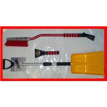 "Emergency SNOW SHOVEL 36' SNOWBRUSH 10"" FOAM SCRAPER"