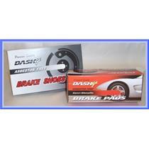 1983-1990 Toyota Tercel Front & Rear Brake Pad Shoe Sets