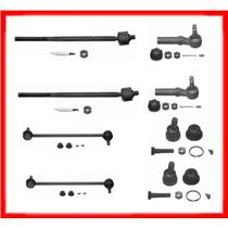 Voyager Caravan Links Ball Joints Tie Rods  8Pc Kit