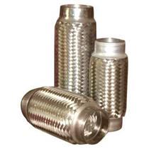 "1 3/4"" x 8"" Flex Pipe Tube Stainless Steel Inner Braid"