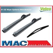 01-04 Hyundai Santa Fe Front & Rear Valeo Wiper Blades