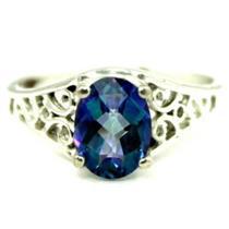 SR305, Neptune Garden Topaz 925 Sterling Silver Ring