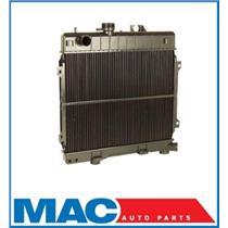 1984-1985 BMW 318I 3 SERIES Radiator Manual Transmission