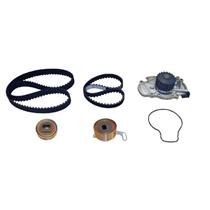 CRP/Contitech TB186-187LK1 Engine Timing Belt Kit with Water Pump