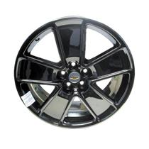 "*NEW* Front Black PVD 21"" Inch Wheel Rim OEM 19257813 2010-2013 GM Chevy Camaro"