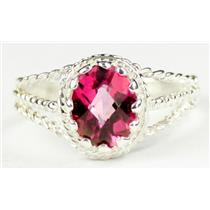 Pure Pink Topaz, 925 Sterling Silver Ring, SR070