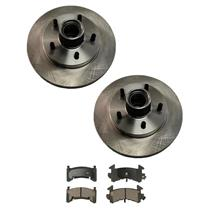 S10/T10 S15/T15 SONOMA HOMBRE Front Disc Brake Rotors & Brake Pads 2WD No ABS