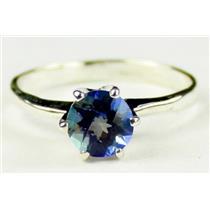 SR311, Neptune Garden Topaz, 925 Sterling Silver Ring