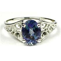 Neptune Garden Topaz, 925 Sterling Silver Ring, SR005