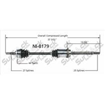SurTrack NI-8179 CV Axle Shaft New Front Right Fits G20 BASE MODEL ONLY CALL CK